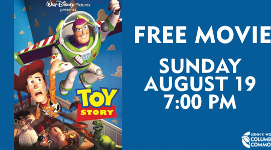 Free Movie Night: Toy Story banner